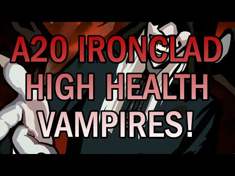 The Healthy Vampire! | Ascension 20 Ironclad Run | Slay the Spire