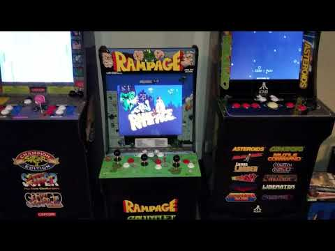 Arcade1Up Control Panel, Gauntlet Level 31 and Customer