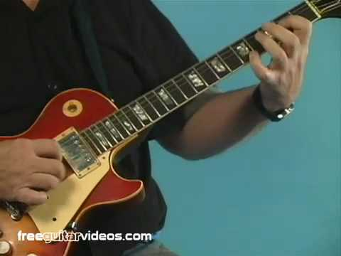 Guitar Lesson: Blues Rhythm Riff