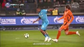 Футбол Россия   Премьер Лига 18 й тур Зенит 3:0 Урал