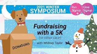 Fundraising with a 5K (or other race)