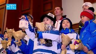 Юные хоккеисты с победой вернулись на родину / 08.12.17 / НТС