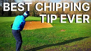 BEST CHIPPING TIP EVER - Master Your Short Game Technique & Stop CHUNKING your chip and pitch shots