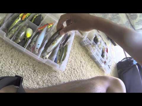 My Bass Fishing Tackle 8/1/14