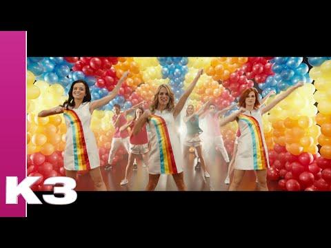 k3 - 10.000 luchtballonnen | clip vidéo, paroles et karaoke