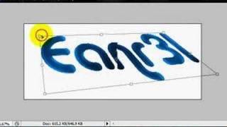 Tutorial Texto 3D photoshop en español!!