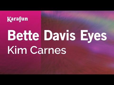 Karaoke Bette Davis Eyes - Kim Carnes *