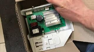 REPARATUR: Inverter Modul Waschmaschine Bosch, Siemens iQ700 - E57 - 00706019 - Trommel dreht nicht