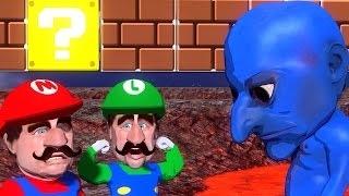 スーパーマリオブラザーズX青鬼 (3Dアニメパロディ) Super Mario Brothe