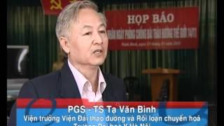 Kỷ niệm ngày Đái tháo đường Thế giới tại Ninh Bình
