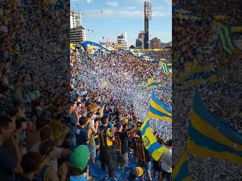 """""""Recibimiento rosario central vs Godoy Cruz 2019"""" Barra: Los Guerreros • Club: Rosario Central"""