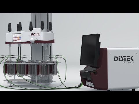 Distek Opt-Diss 410 - In-Situ Fiber Optic UV for Dissolution Testing