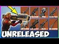 *NEW* 8 LEAKED WEAPONS With GAMEPLAY In Fortnite! (Fortnite Battle Royale) Leaked Guns Season 4