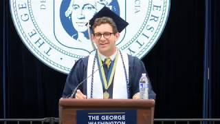 video - The GW School of Business 2019 Undergraduate Commencement Ceremony