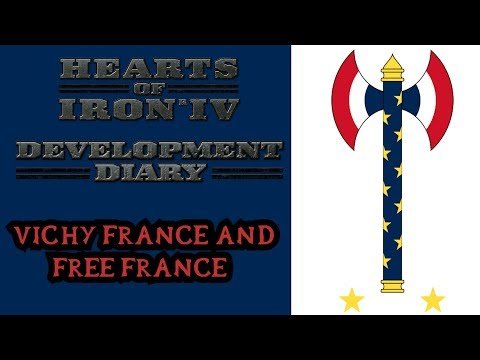 Vichy France/Free France and Occupation Dev Diary - Hearts of Iron 4 DLC