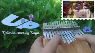 UP Theme Song Married Life & Stuff We Did  - Cover On Kalimba 15 Keys【By Daffa】| Relaxing Music