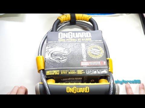OnGuard Pitbull U-Lock Unboxing & Review