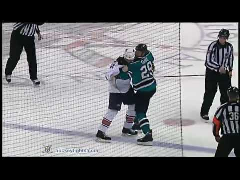 Ryane Clowe vs. Jason Strudwick