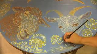 Decorative Painting On Wood (Master Class)