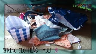 Spring Clothing Haul: Aeropostale, The Deb Shop & More!