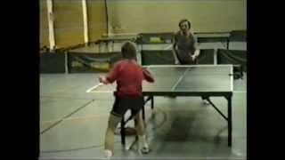 preview picture of video 'TT-Gilching 1987: Freundschaftsspiel gegen Bajuwaren (Tischtennis)'