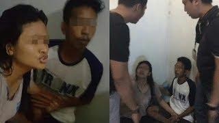 Sang Ibu Juru Parkir Menangis saat Tahu Anaknya Telah Ditangkap Polisi