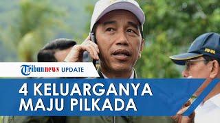 4 Orang Keluarganya Maju Pilkada & Dituding Lakukan Dinasti Politik, Jokowi: Yang Menentukan Rakyat