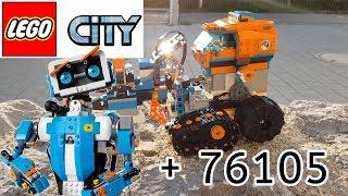 LEGO Arktis und BOOST umgebaut 60194 + 17101HD