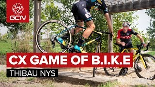 Cyclo-cross Game Of B.I.K.E With Thibau Nys | Who Has The Best CX Bike Handling Skills?