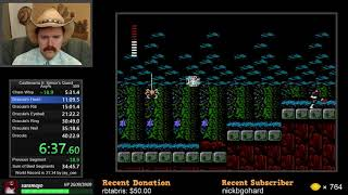 Castlevania II: Simon's Quest NES speedrun in 40:10 by Arcus