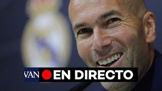 [EN DIRECTO] El Nuevo Entrenador Del Real Madrid, Zidane, En Conferencia De Prensa