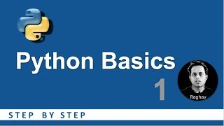 Python Beginners Tutorial | Getting Started | Basic Programming 1