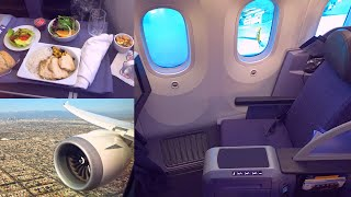 United | Boeing 787-8 Dreamliner | First Class | Polaris Seat | Houston - Los Angeles