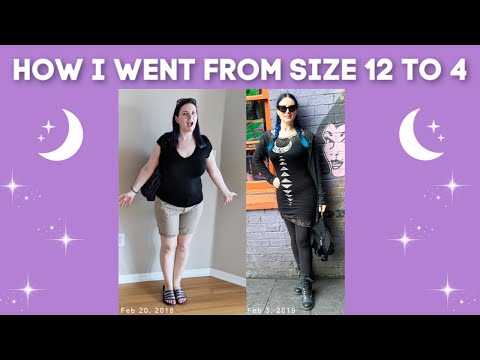 How I went from a size 12 to a size 4