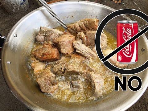 Como Hacer Carnitas En Cazo - Sin Coca Cola o Leche Dulce