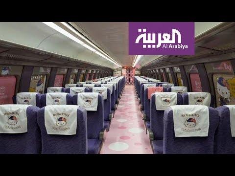 العرب اليوم - شاهد: قطار hello kitty الجديد في اليابان