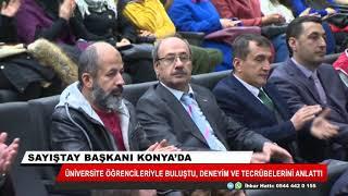 Sayıştay başkanı Konya'da