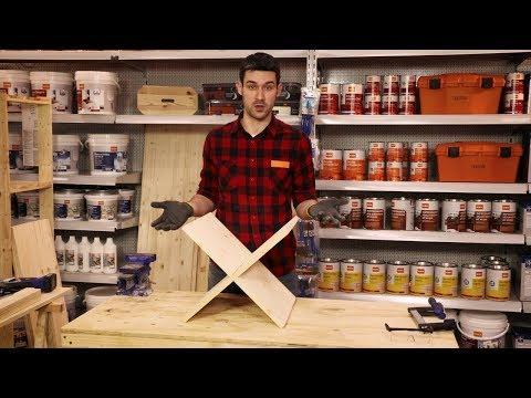 Come creare un portariviste in legno
