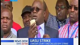 UASU strike: Lectuters' enters third week