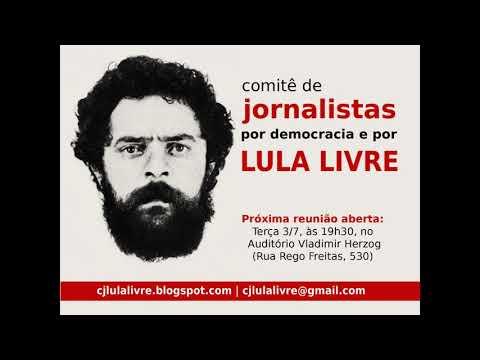Comitê de Jornalistas por Democracia e Lula Livre: reunião nesta terça (3)