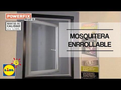 Mosquitera Enrollable De Aluminio Para Ventana - Lidl España