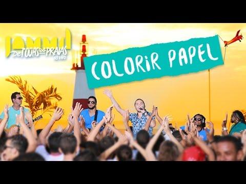 Colorir Papel - Wesley Safadão