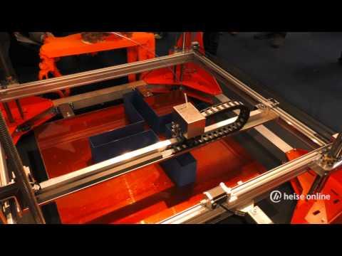 Übergroße 3D-Drucker von der Euromold