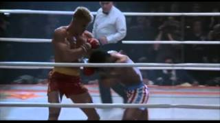 Rocky 4 Combate Rocky Balboa vs Ivan Drago en español