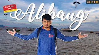 Night Stay Food and Water Sport Under ₹1000/-  || Alibaug Vlog || Mumbai to Alibaug Boat Trip || AAI