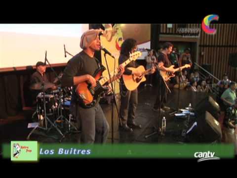 Los Buitres llevaron su onda rockera al escenario de Cantv