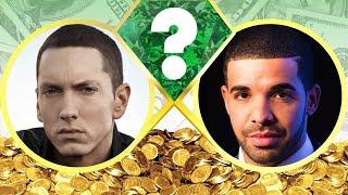 WHO'S RICHER? - Eminem or Drake? - Net Worth Revealed! (2017)
