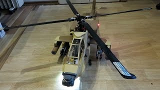 Teil 6 Apache Longbow AH-64 das 500er RC Helicopter Projekt - Der Rumpfeinbau Fertigstellung *HD*