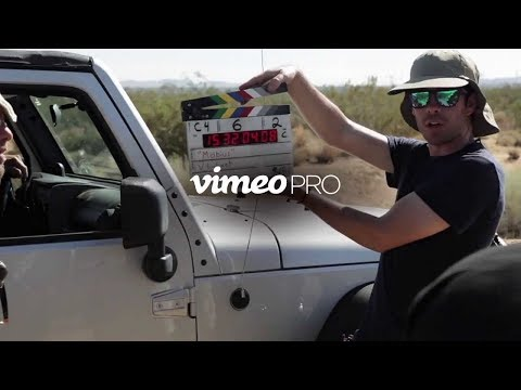 Vimeo PRO - the best video solution for creative professionals