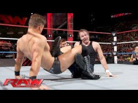 Dean Ambrose VS The Miz - WWE RAW 18 May 2017